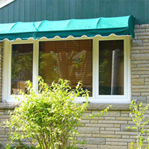 Quarter-Round Style Awning Photos, EasyAwn Do-It-Yourself ...