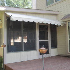 Spear Style Awning Photos for EasyAwn Do-It-Yourself ...